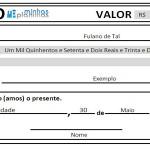 Planilha de Recibo Excel