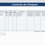 Planilha Controle de Cheques Grátis