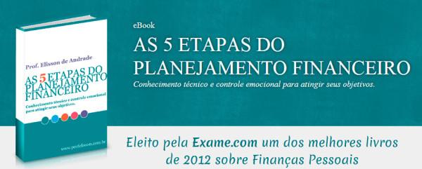 AS 5 ETAPAS DO PLANEJAMENTO FINANCEIRO