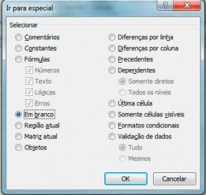 Deletar Linha Vazia Excel'
