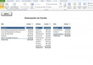 Vendas - Planilha Controle de Vendas para Blog