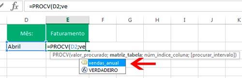 PROCV no Excel