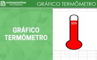 Gráfico Termômetro Excel