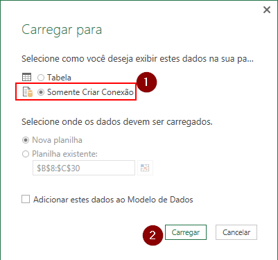 Comparar Lista no Excel com Power Query