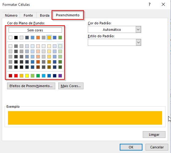 Gráfico Excel dashboard