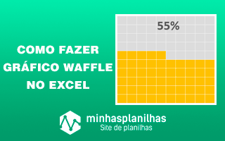 Como Criar um Gráfico Waffle no Excel