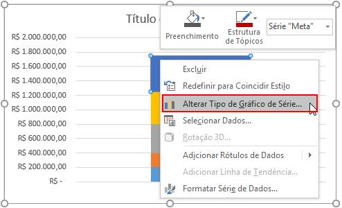 Gráfico de Bala Excel
