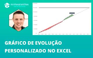 Gráfico de Evolução Personalizado no Excel