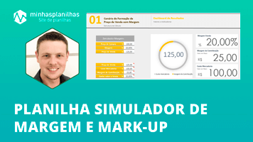 Planilha Simulador Margem Mark-up no Excel