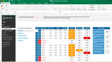 Planilhas de RH Excel