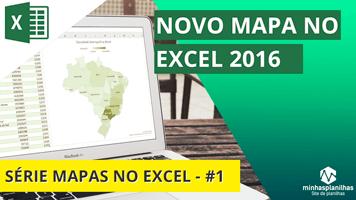 Como Criar Mapas no Excel – Série no Canal