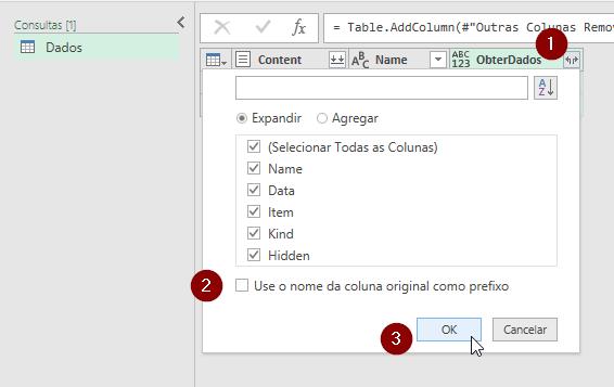 Expandir Coluna Excel