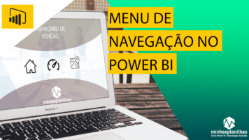 Menu no Power BI